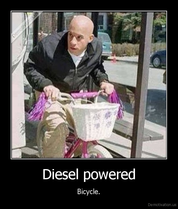 Diesel powered
