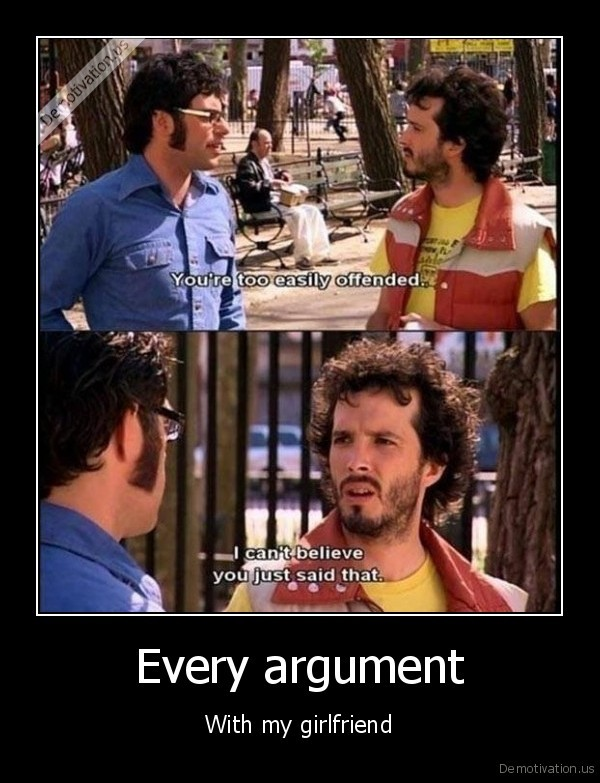 Every argument