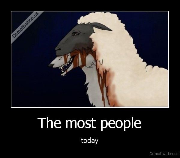 The most people