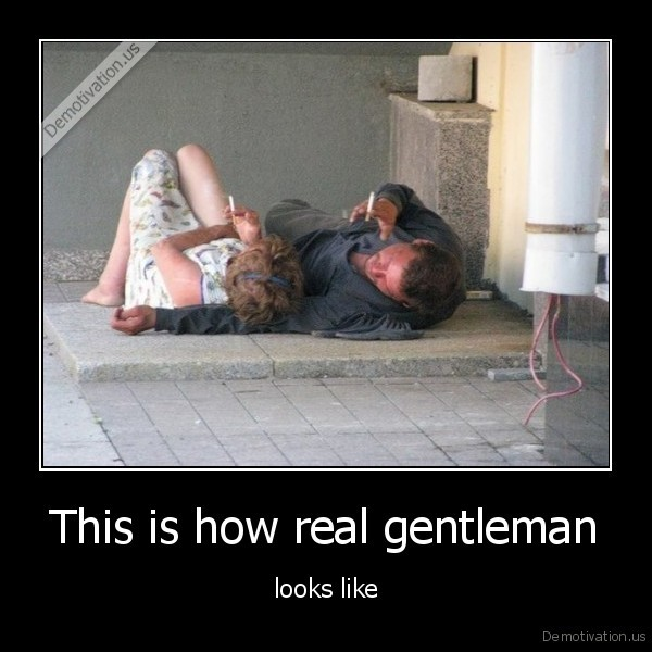 This is how real gentleman