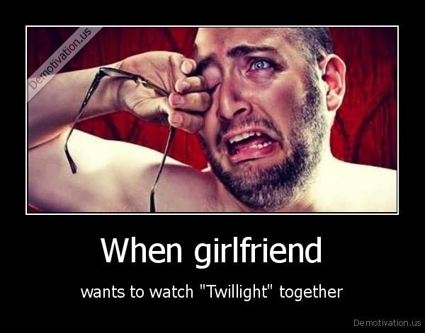 When girlfriend