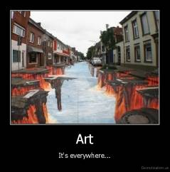 Art - It's everywhere