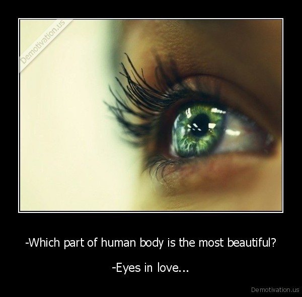Which Part Of Human Body Is The Most Beautiful Demotivation