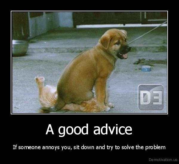 funny good advice