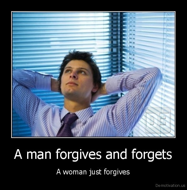 forgive,forget,man,woman