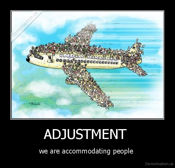 Accommodating people