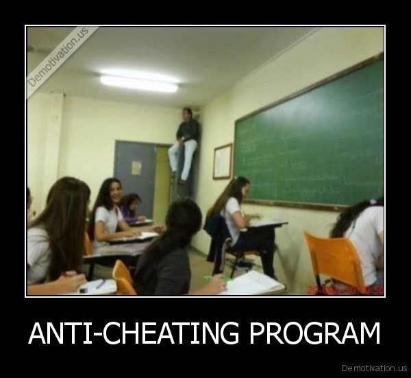 ANTI-CHEATING PROGRAM