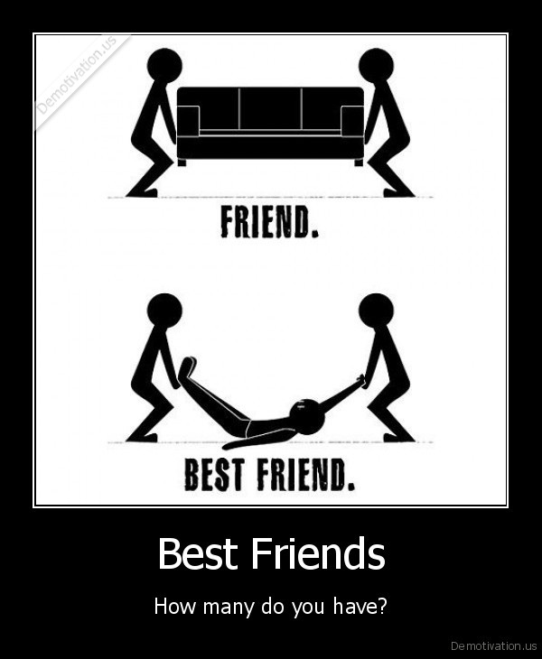 Best Friends - How many do you have?