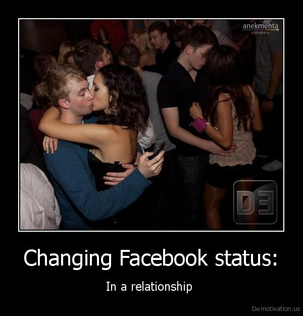 Changing Facebook status: