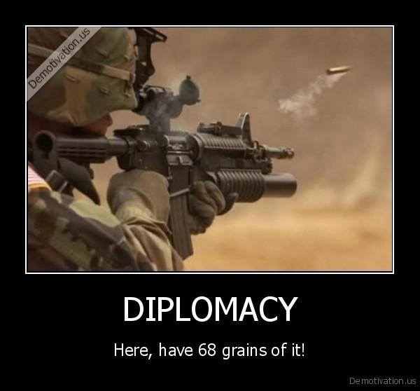 Diplomacy essay