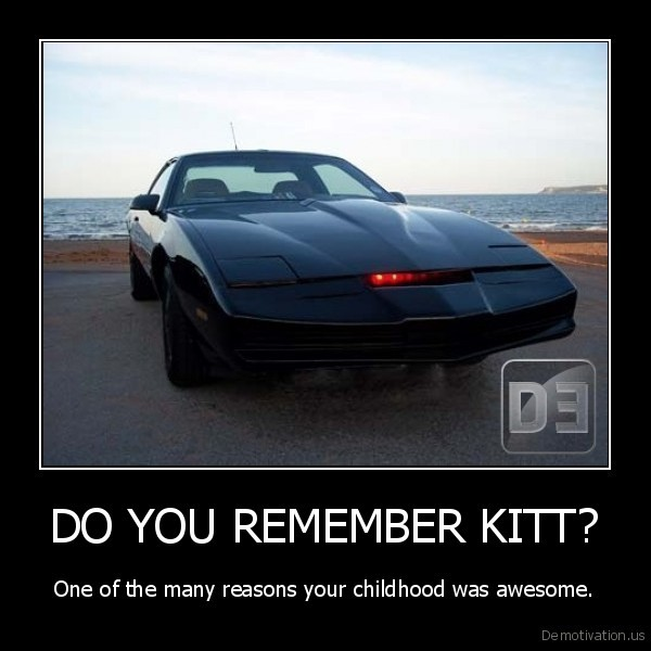 DO YOU REMEMBER KITT?