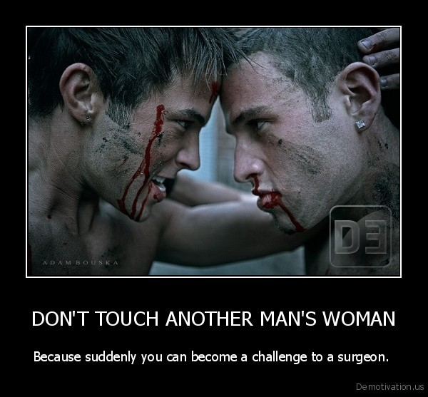 how to become a challenge to a man