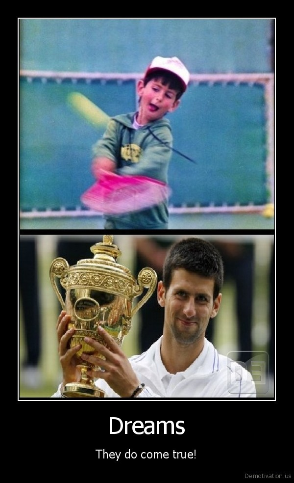 novak,djokovic,dreams,come,true