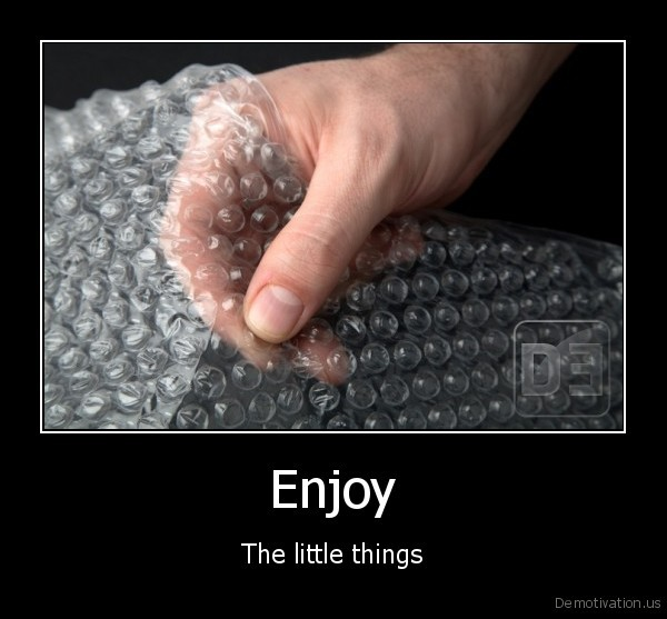 Enjoy - The little things