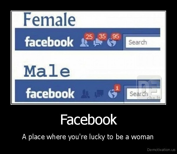 lucky to be a woman
