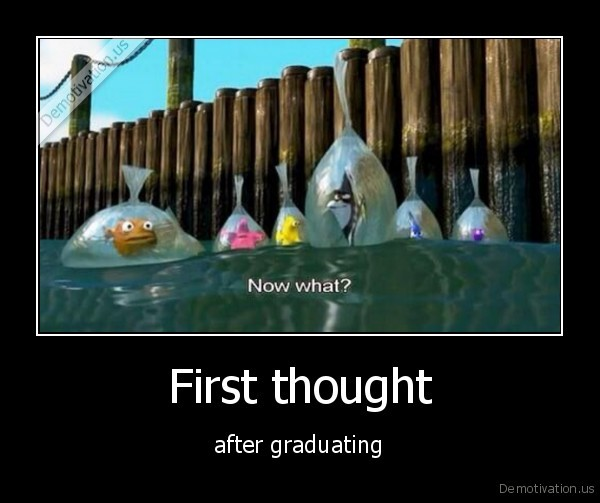 after graduating