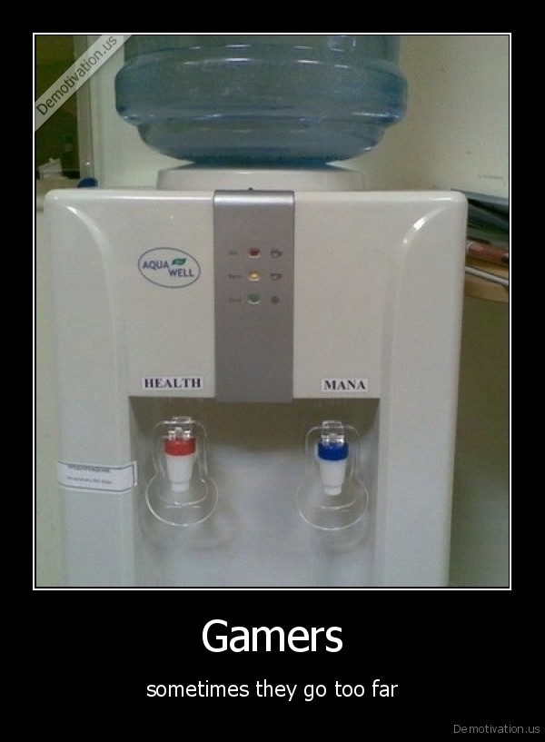 Gamers - sometimes they go too far
