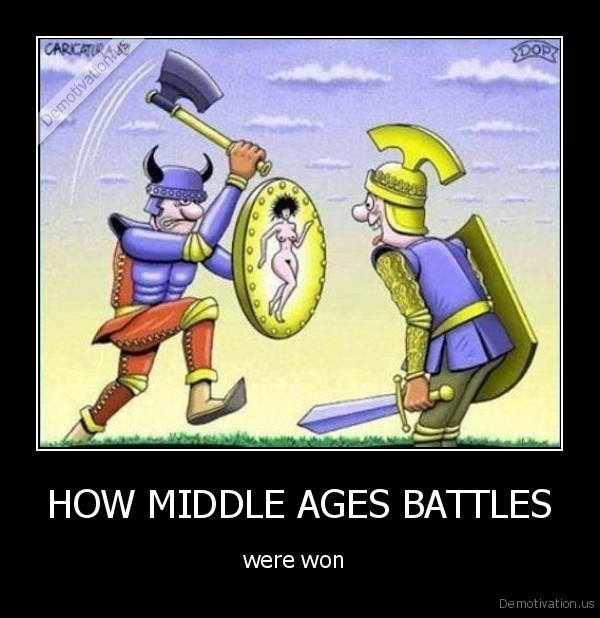 HOW MIDDLE AGES BATTLES