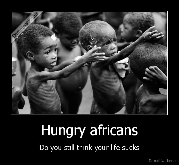 hunger,africa,life,sucks