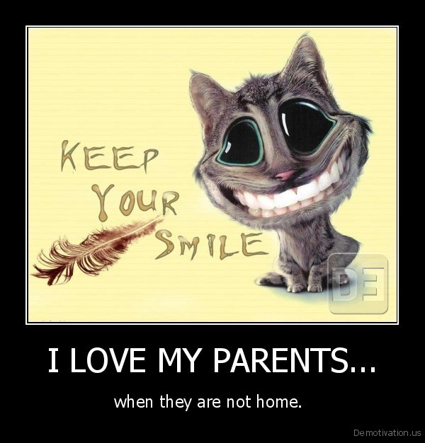 I LOVE MY PARENTS...