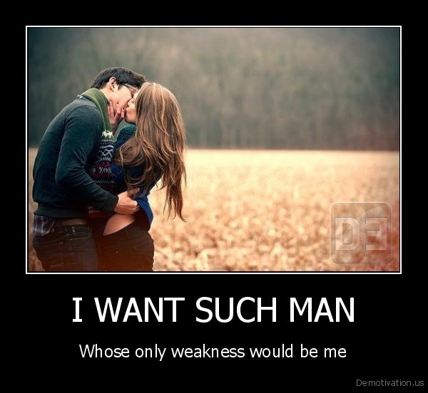 I WANT SUCH MAN