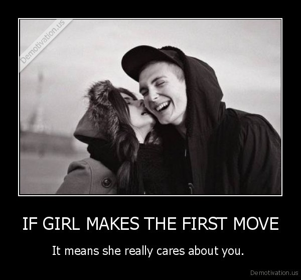 Girl First Move
