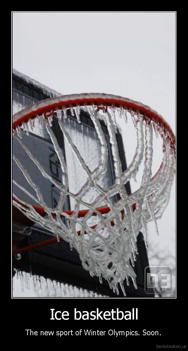 Ice basketball