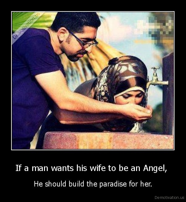what should a man expect from his wife