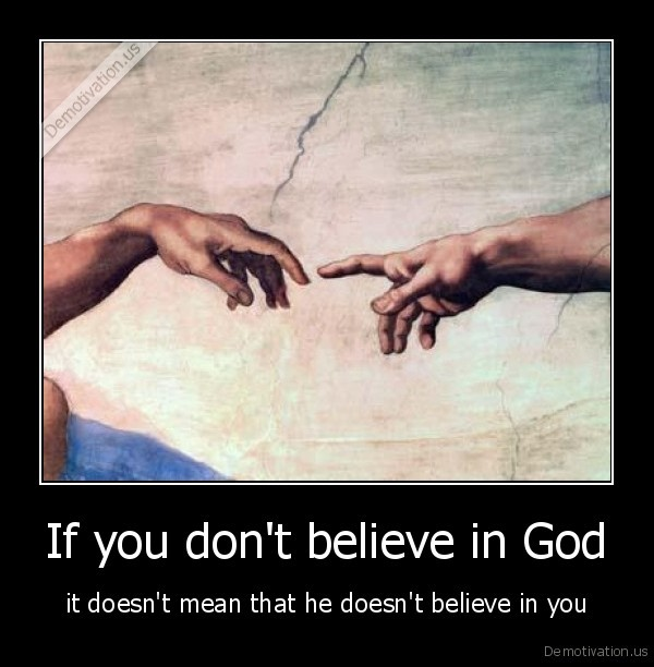 If you don't believe in God