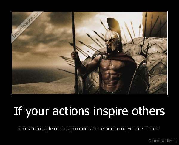 Spartan soldier inspirational quote