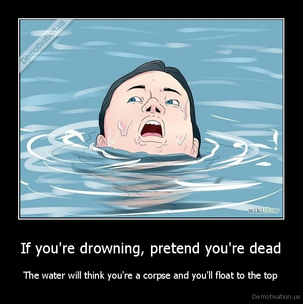 drowning,swiming