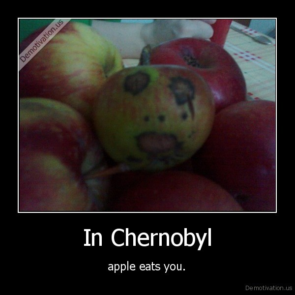 apple, chernobyl