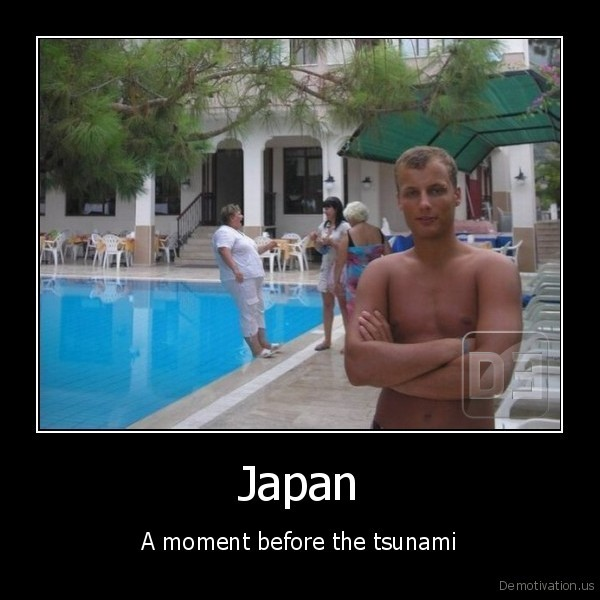 Japan - A moment before the tsunami