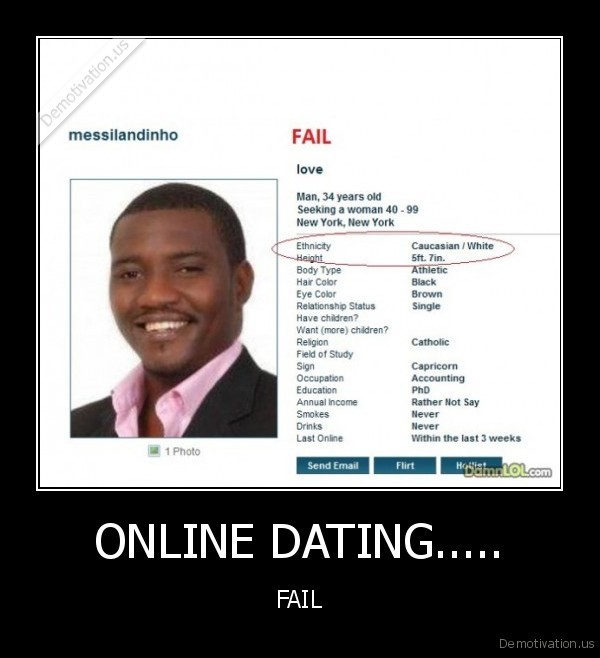 Why Do Online Dating Sites Fail