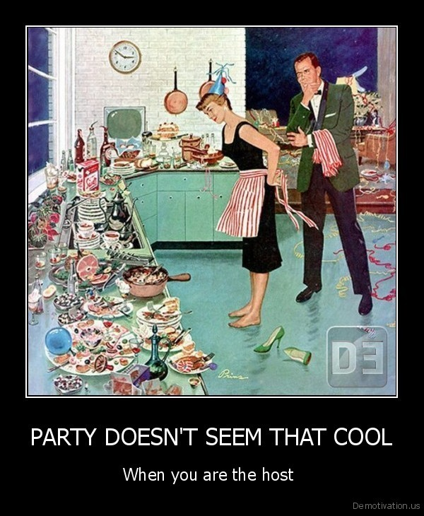 PARTY DOESN'T SEEM THAT COOL