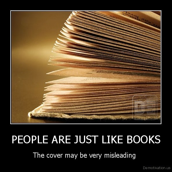 PEOPLE ARE JUST LIKE BOOKS