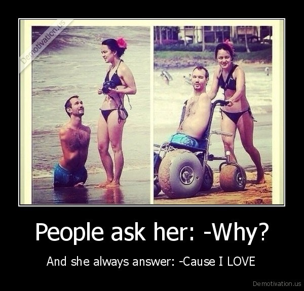 People ask her: -Why?