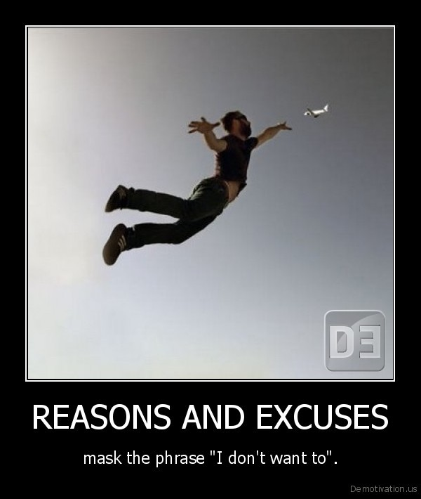 REASONS AND EXCUSES