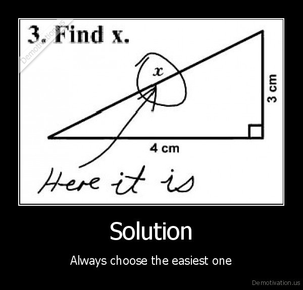 school,solution,easiest,easy