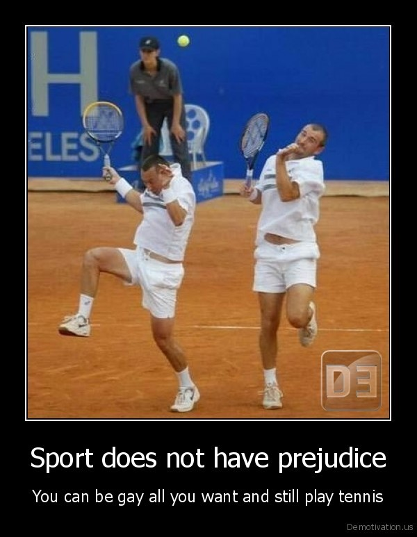 Sport does not have prejudice