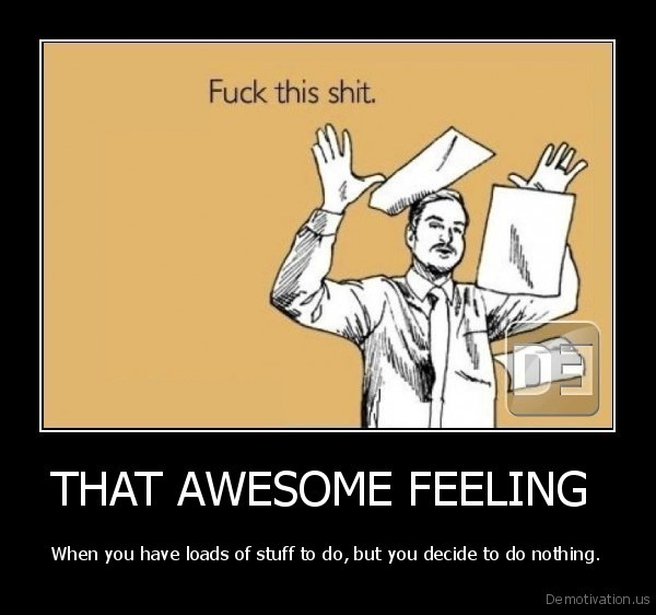 THAT AWESOME FEELING