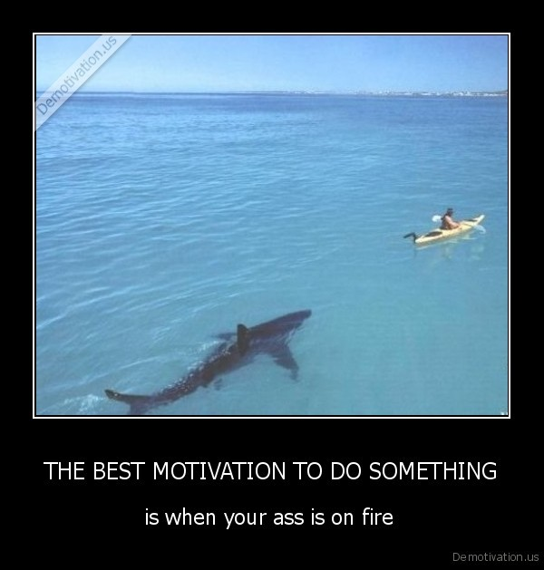THE BEST MOTIVATION TO DO SOMETHING