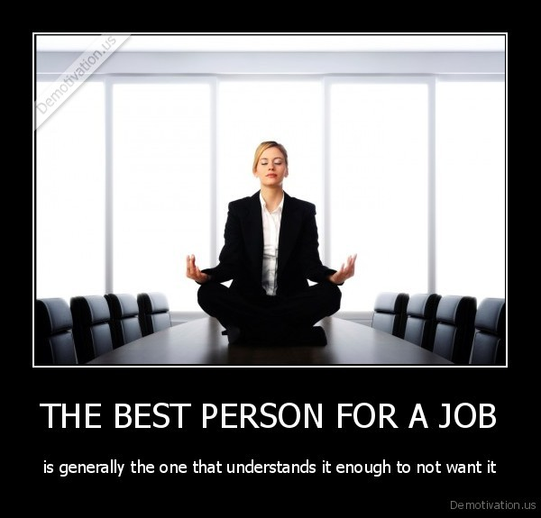 best person for the job