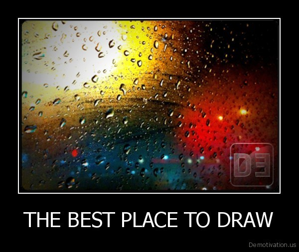 THE BEST PLACE TO DRAW