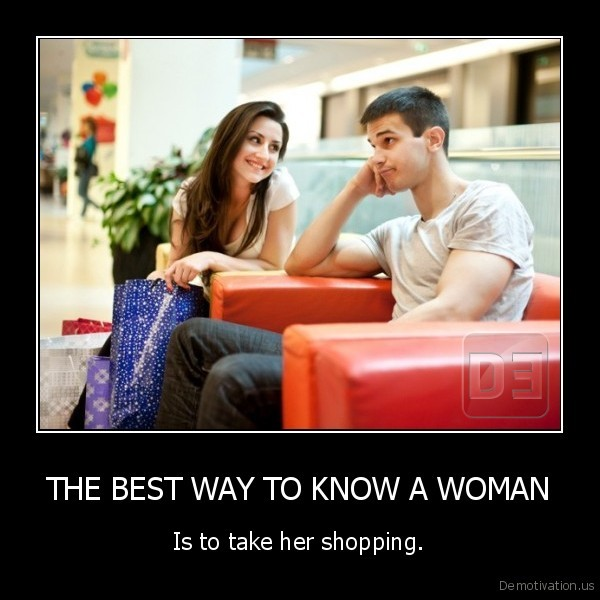 THE BEST WAY TO KNOW A WOMAN