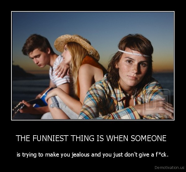 THE FUNNIEST THING IS WHEN SOMEONE