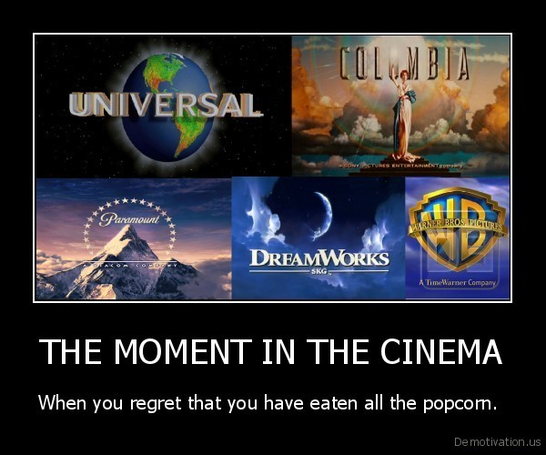 THE MOMENT IN THE CINEMA