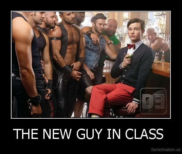 THE NEW GUY IN CLASS