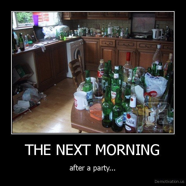 THE NEXT MORNING