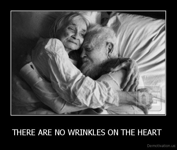 THERE ARE NO WRINKLES ON THE HEART